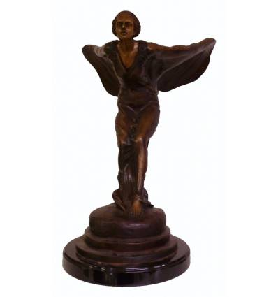 Sculpture en bronze Réf : BRZ1099-28 ( HT. 72 x L . 53 Cm )