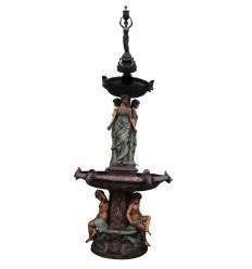 Fontaine de jardin en bronze BRZ1391