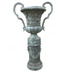Vasque de jardin en bronze BRZ0303V