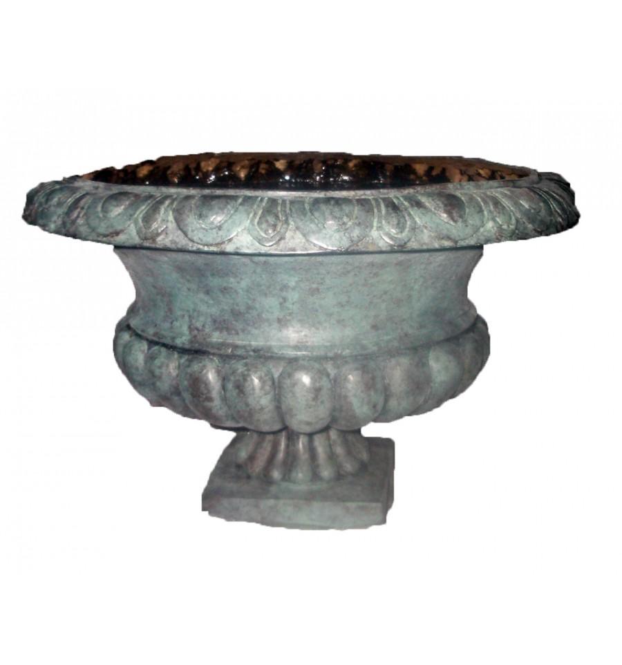 Vasque de jardin en bronze BRZ1674V
