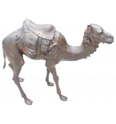 Chameau en bronze BRZ0361 ( H .101 x L :117 Cm )