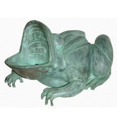 Fontaine miniature en bronze BRZ1579