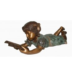 Sculpture bronze enfant BRZ1560V
