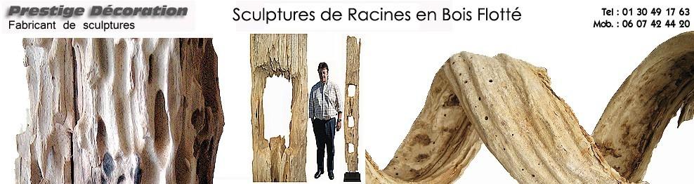 Racine en bois flotté - Prestige décoration