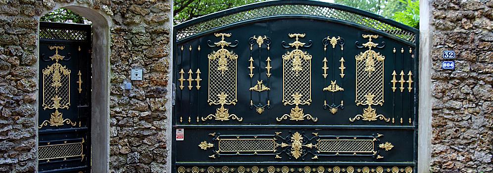 decoration portail exterieur best peinture portail with decoration portail exterieur styles de. Black Bedroom Furniture Sets. Home Design Ideas